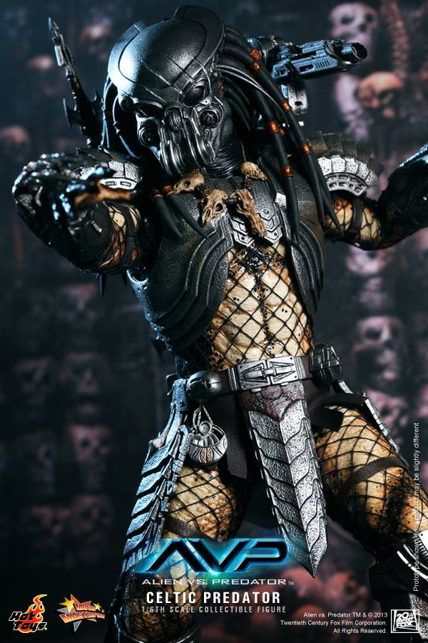 avp celtic predator hot toys toyzmag 9