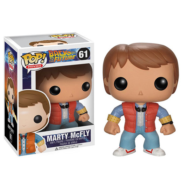 Back To the Future retour vers le futur Marty Funko