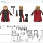 Marvel Minimates : les control arts de la série 53 (Thor)