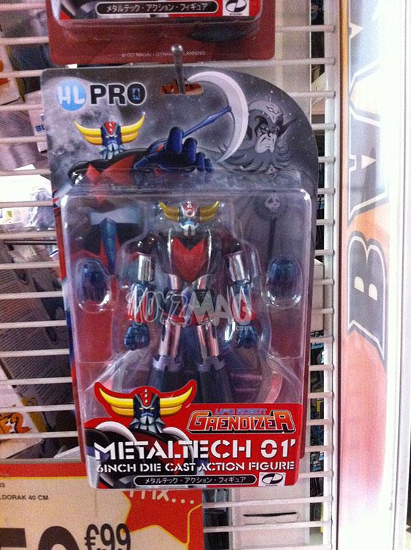Goldorak Metaltech TRU