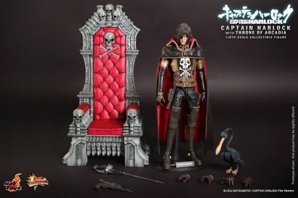 harlock albator hot toys trone toyzmag 5