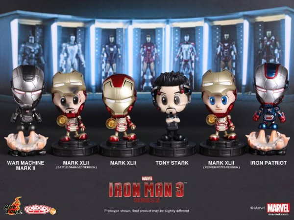hot toys serie 2 iron man 3 cosbabies 1