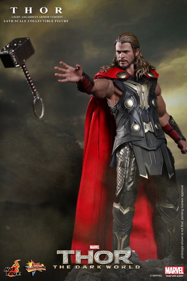 hot toys thor light armor 4