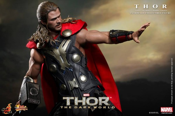 hot toys thor light armor 7