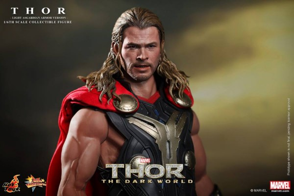 hot toys thor light armor 8