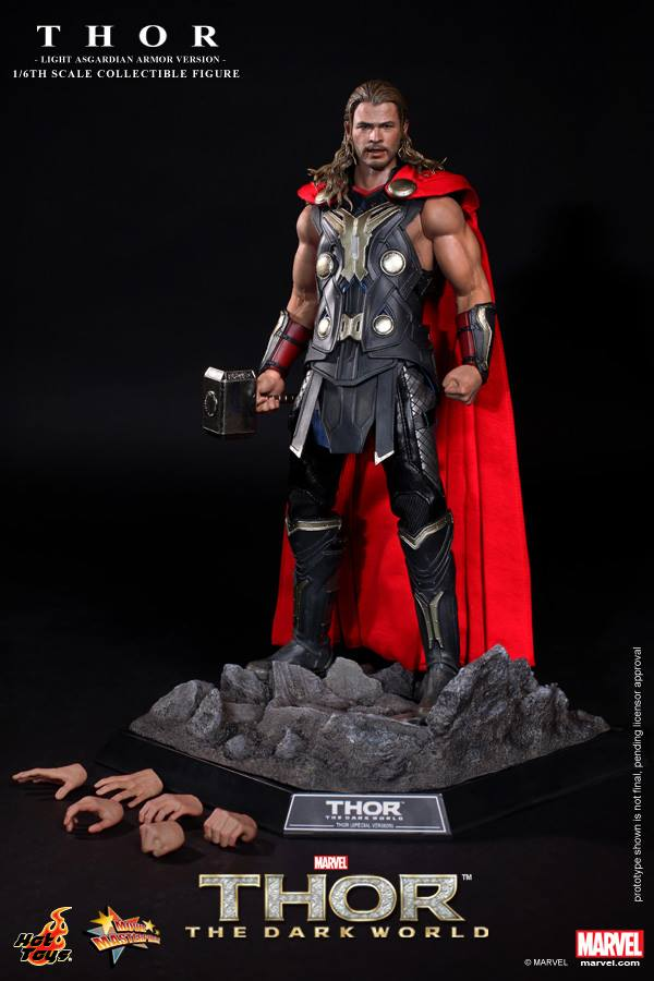 hot toys thor light armor 9
