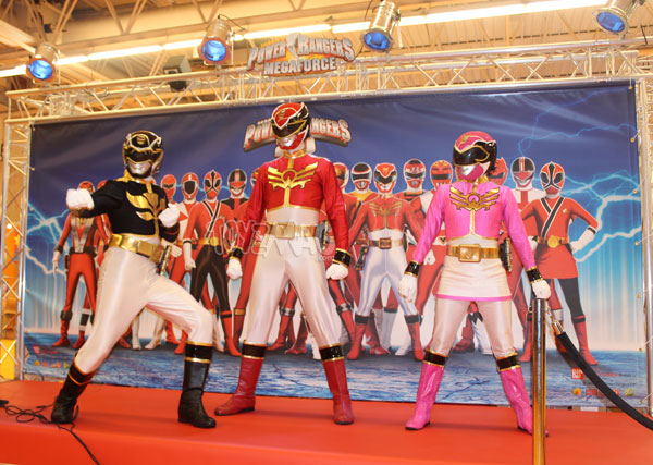 kidexpo 2013 power rangers Megaforce
