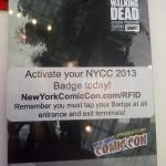 C'est arrivé en 2013 : NYCC - les coulisses et l'ambiance