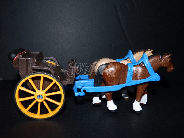 playmobil western canon soldats US cavalerie 18
