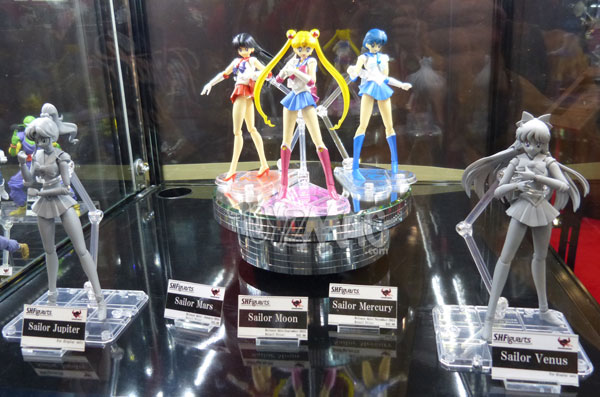 sailor moon SH figuarts Tamashii Nation NYCC