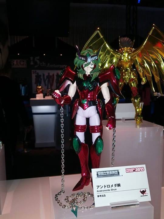 tamashii nations 2013 andromede Myth Cloth Saint Seiya Omega
