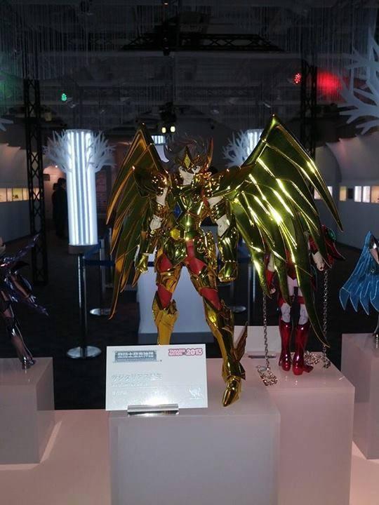 tamashii nations 2013 Seiya Sagittaire Myth Cloth Saint Seiya Omega
