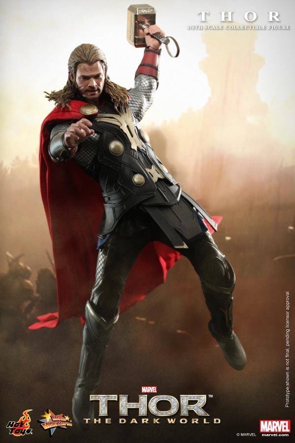 thor dark world hot toys 5
