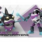 Transformers les visuels de Maniaking et Sharky