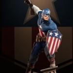 Sideshow : Captain America en Premium Format