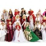 25ans de Barbie Collector Joyeux Noël - rétrospective