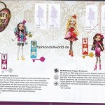Du nouveau pour Ever After High : Lizzy Heart et des playset