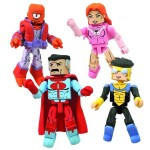 Packaging Minimates : Invinvible et Thief of Thieves