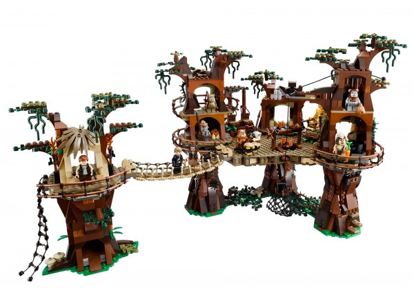 LEGO star wars Village Ewok