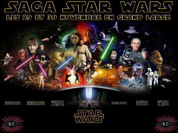Saga Star Wars Le Grand Rex