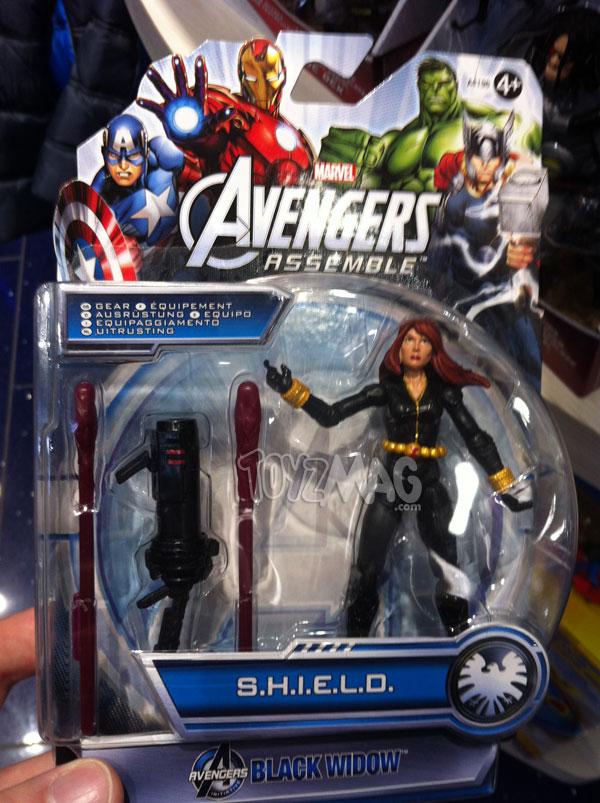 Black Widow avengers assemble Sheild gear