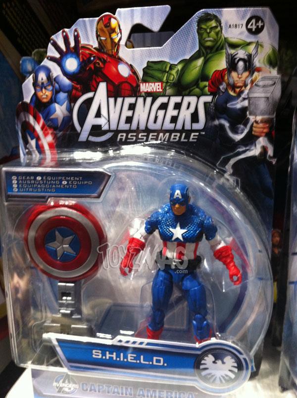 Captain America avengers assemble Sheild gear