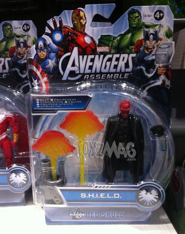 Red Skull avengers assemble Sheild gear