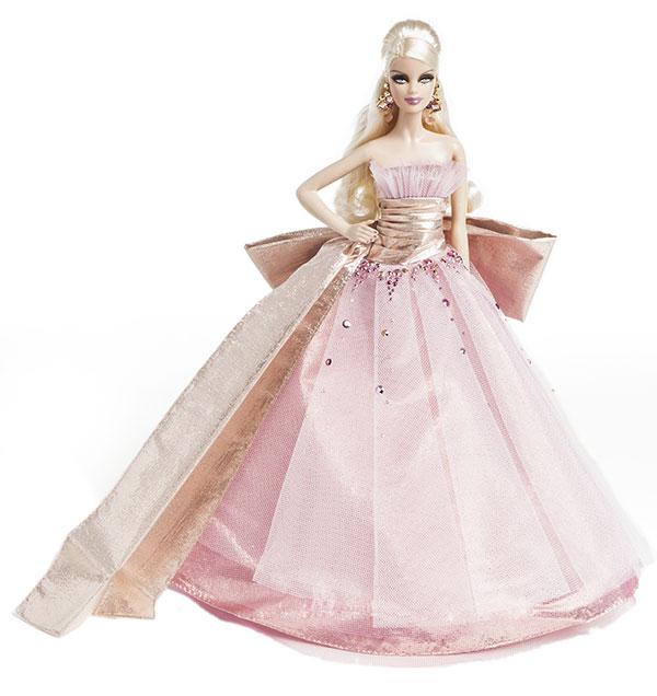 barbie noel 2009 ToyzMag.» 25ans de Barbie Collector Joyeux Noël – rétrospective barbie noel 2009