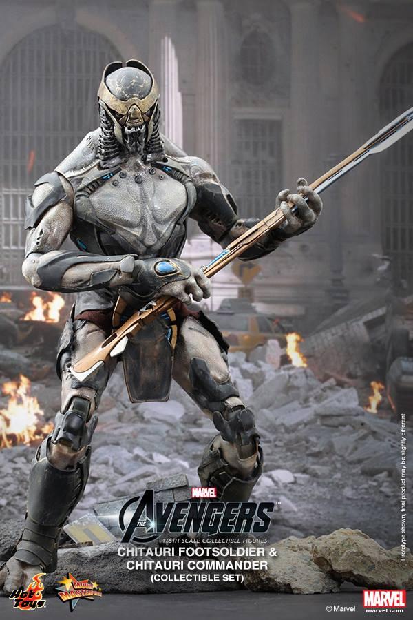 chitauri avengers hot toys marvel 2