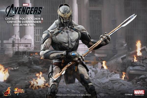 chitauri avengers hot toys marvel 3