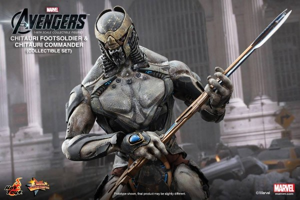 chitauri avengers hot toys marvel 4