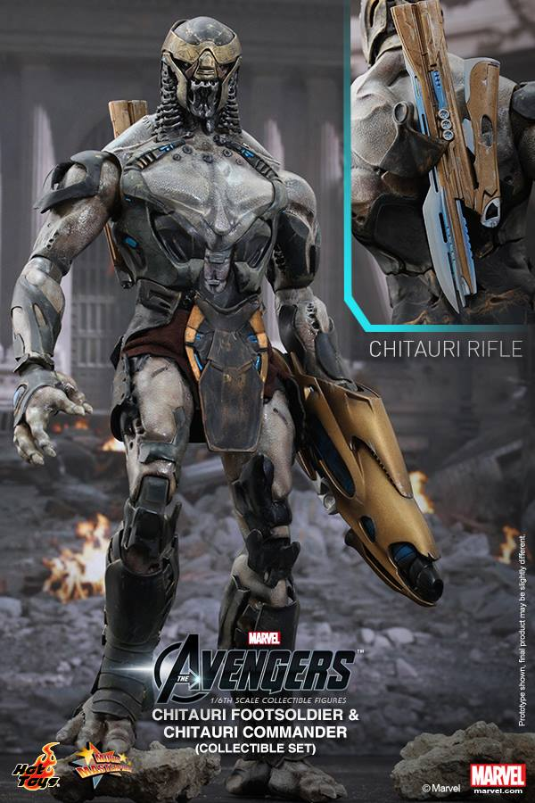 chitauri avengers hot toys marvel 5