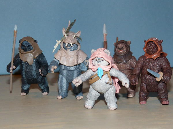 ewok pack hasbro star wars 23