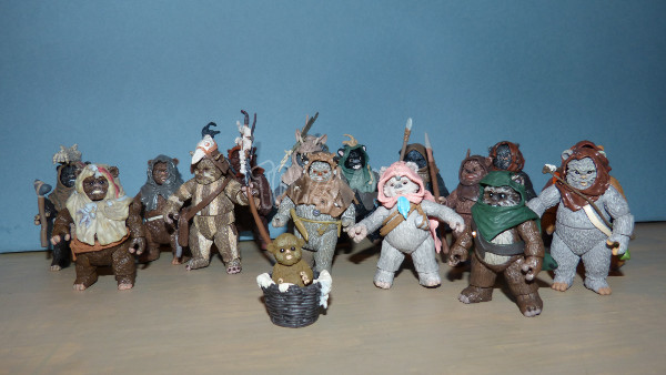 ewok pack hasbro star wars 24