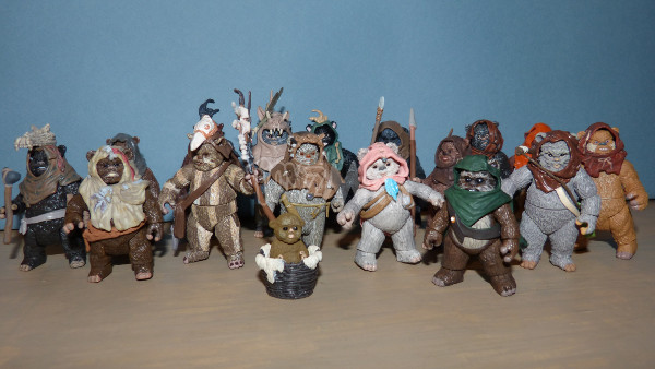 ewok pack hasbro star wars 25