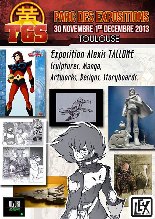 Toulouse Game Show Expo Allexis Tallone