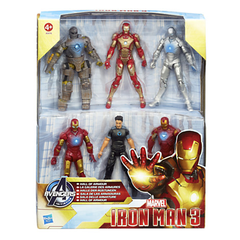 hall of armour iron man3 Hasbro