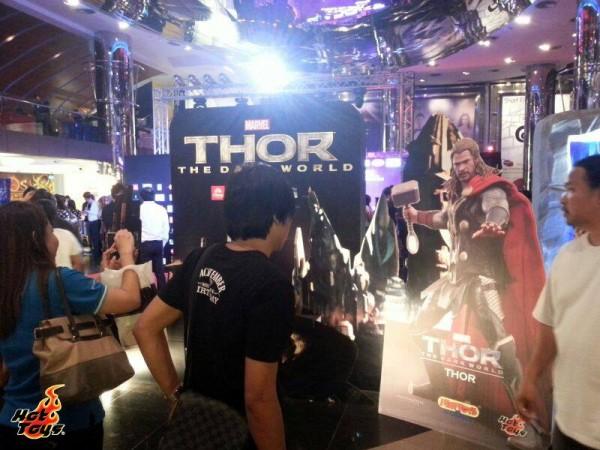 hot toys thor expo singapour thailande 1