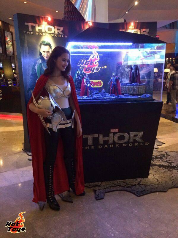 hot toys thor expo singapour thailande 2