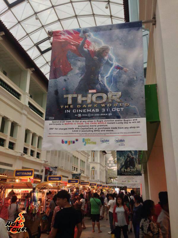 hot toys thor expo singapour thailande 5