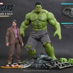 Hulk et Bruce Banner : un set Hot Toys