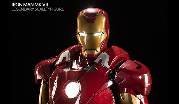 iron man mkvii legendary scale sideshow