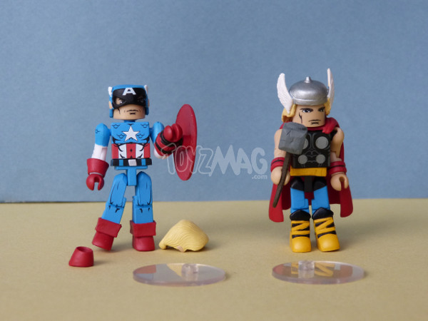 marvel minimates iron patriot capamerica thor 1