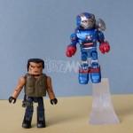 Marvel Minimates Iron Man 3 : Iron Patriot & Extremis Soldier