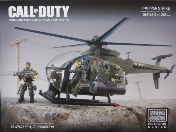 megabloks callofduty chopper strike 1