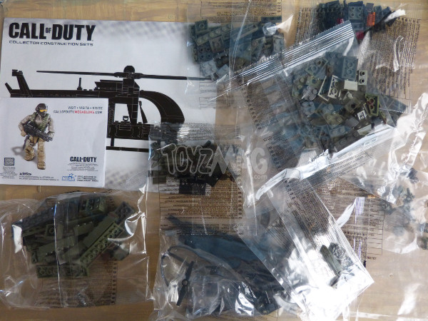 megabloks callofduty chopper strike 3