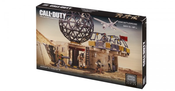 Megabloks - Call Of Duty - 6818 - Jeu De Construction - Champ De Bataille Dôme