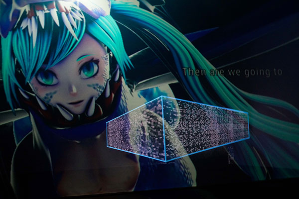 THE END - Vocaloid opera © Kenshu Shintsubo, courtesy of Yamaguchi Center of Arts and Media [YCAM]