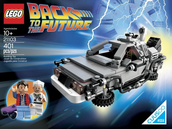 retou rvers le futur Lego CUUSOO