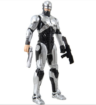 6 IN RoboCop Light-up Action Figure 1.0